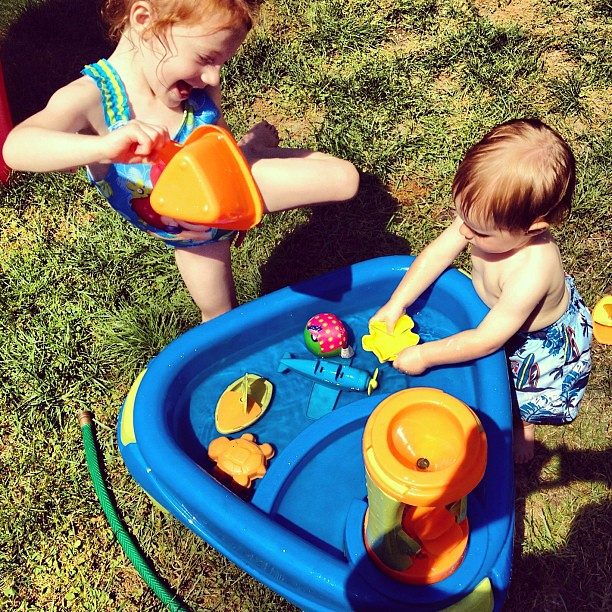 This water table is worth it's weight in gold.