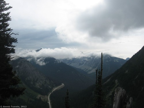 State Route 20 from the Maple Pass Trail, North Cascades National Park, Washington