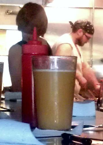 Murky beer