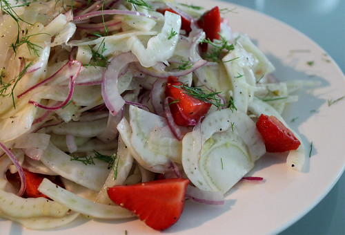 Fennel Salad with Ontario Strawberries