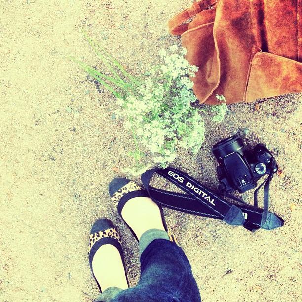 #fromwhereimstanding #flowers #suedebag #zara #leopardflats #summernights