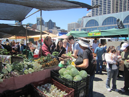 Saturday at the Ferry Market