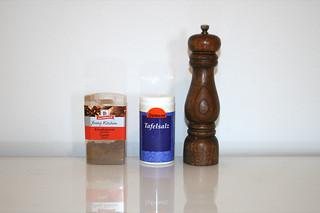 11 - Zutat Gewürze / Ingredient spices