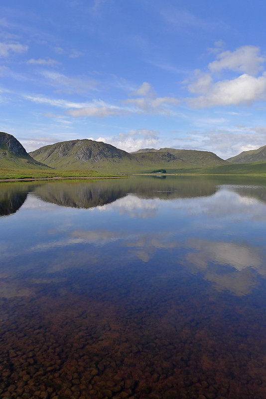 Clear waters of Loch Ghuilbinn