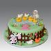 Farm Animals Cake by Gellyscakes