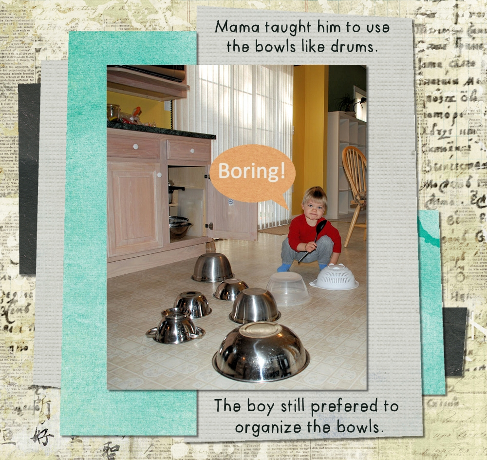Metal mixing bowl story 3