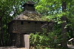 Fort at Matthiessen State Park