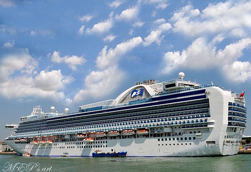 Cruise Ships in Venice: Crown Princess