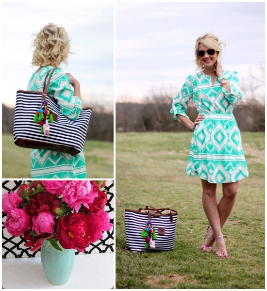 Hi Sugarplum | {Outfit Inspiration} Aqua & Hot Pink