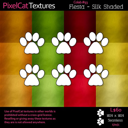 PixelCat Textures - Fiesta - Silk Shaded #93