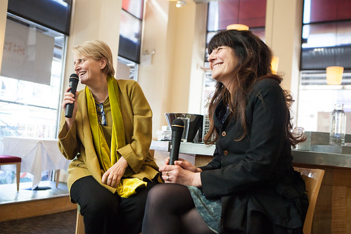 Dorothy Cann Hamilton, CEO/Founder of International Culinary Center (left) and Ruth Reichl