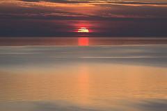 Sunset in Snäck