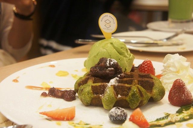 4.Madame Waffle's Salted Egg Yolk Waffle