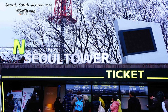 South Korea 2014 - Namsan Seoul Tower 02