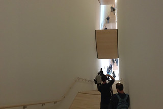SF MoMA - Opening Stairs