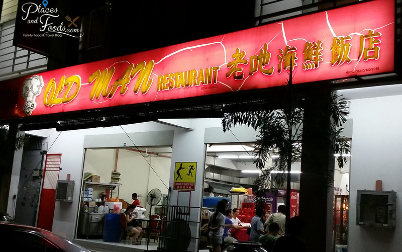 kajang old man restaurant shop