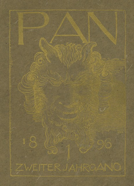Pan. Vol. II, no. 1. Cover detail.