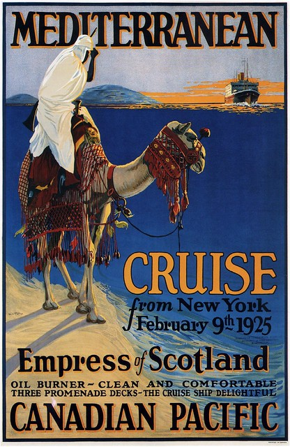George F. McElroy. Mediterranean Cruise from New York. 1924