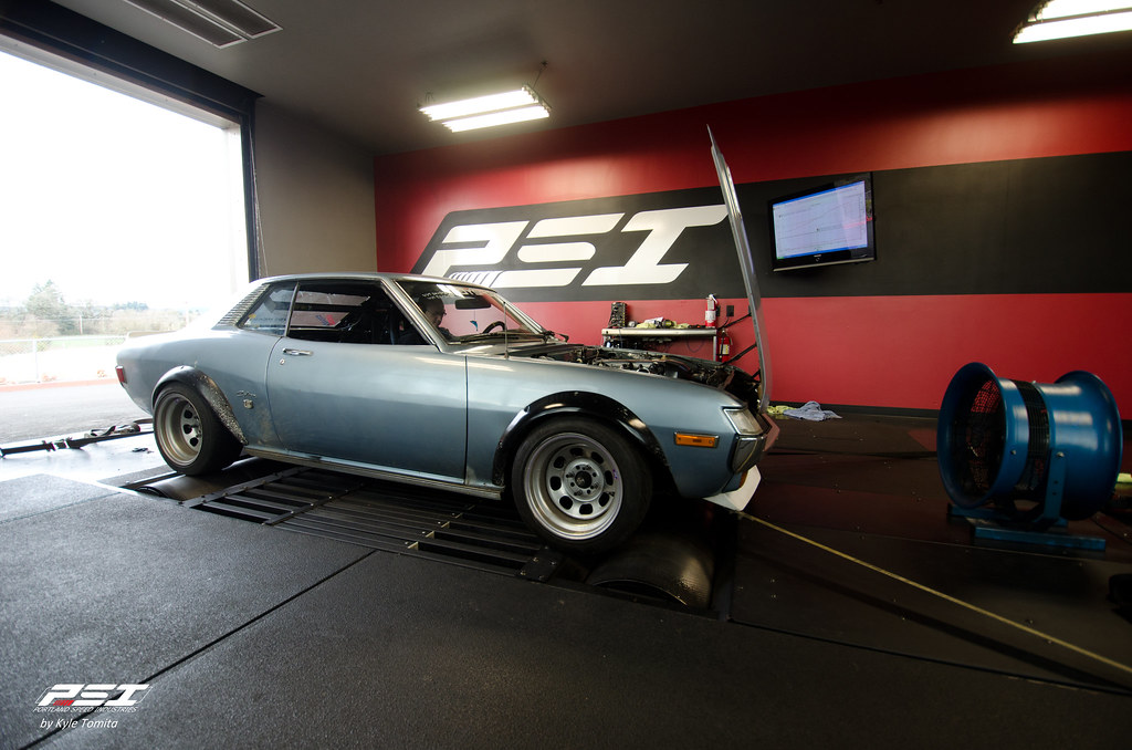 1973 Toyota Celica on the dyno at PSI