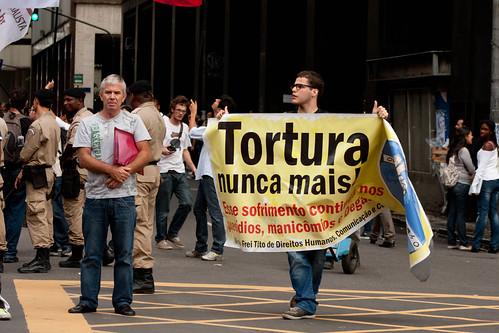 Protesto contra Comemoração do Golpe de 64 - Rio de Janeiro - 29/03/12