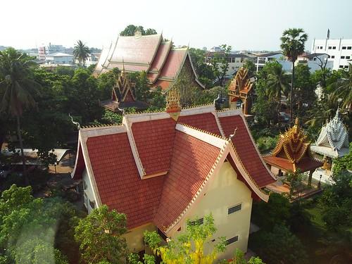 ビエンチャン市内の寺