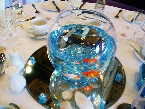 Fishbowl Beach Centerpieces : Original centro de mesa para boda aluzza