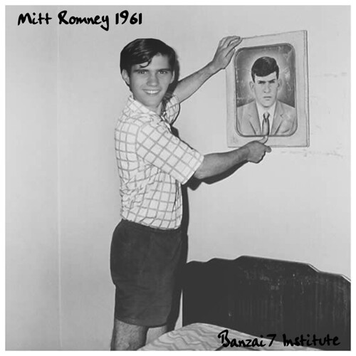 MITT ROMNEY 1961 by Colonel Flick