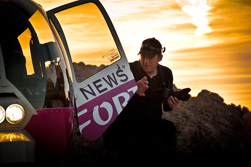 sunset news self aerial helicopter jerryferguson