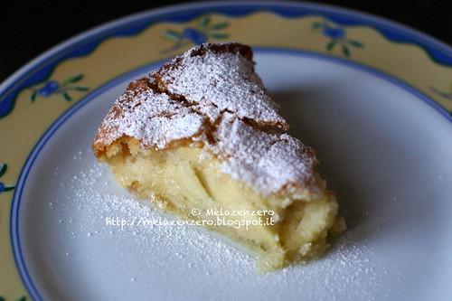 torta di mele burrosa