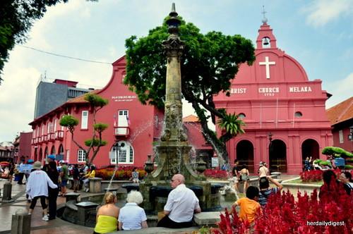 Downtown Melaka