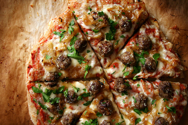 lamb meatball pizza 7