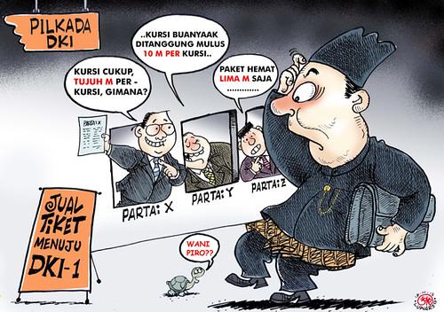 Karikatur 190312 - Pilkada DKI by the1sttimes