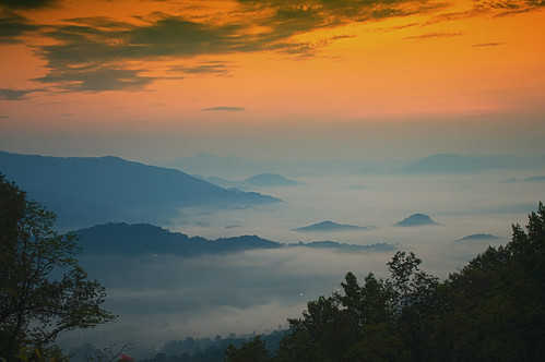 blue sunrise dawn ridge parkway