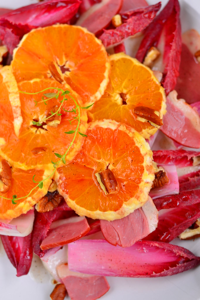 Duck, orange and pecan salad 4