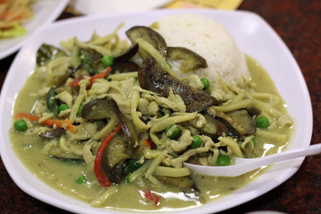 American Thai Green Curry
