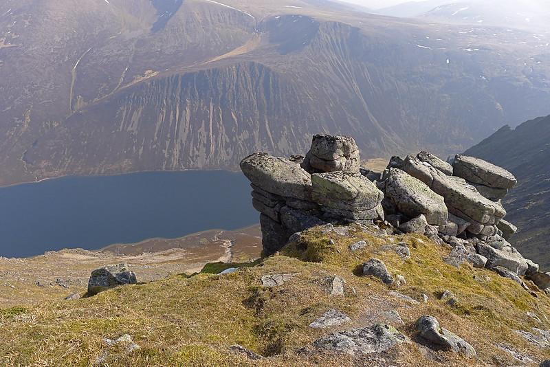 Outcrop above Loch Einich