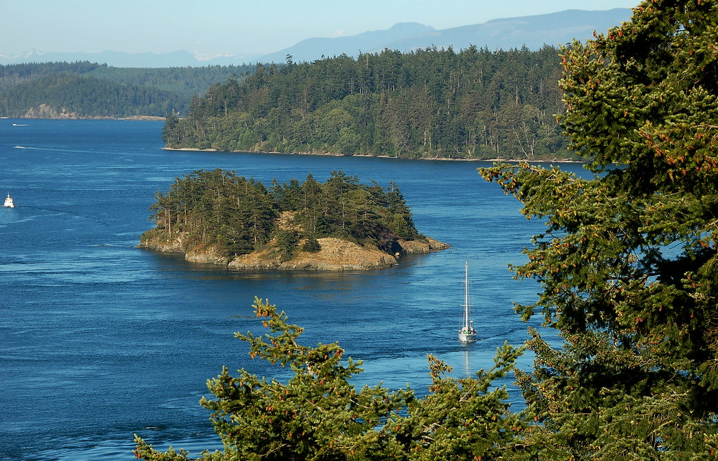 Deception Pass Washington State Island