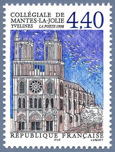 Collégiale de Mantes-la-Jolie