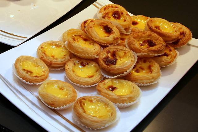 The Portuguese egg tarts are not bad!