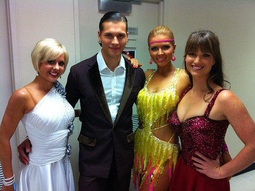 Melanie Hooper,Gleb Savchenko, Elena Samodanova, Zoe Cramond by Eva Rinaldi Celebrity and Live Music Photographer