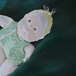 Angel |toy oil painting on canvas