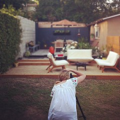 @ljoliet makin magic in our yard.