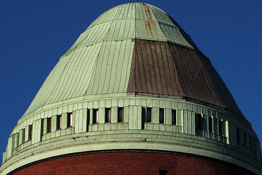 Top Hat Sodervarnstornet Closed Water Tower At Sodervarn