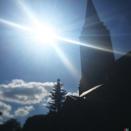#sun #sunshine #church