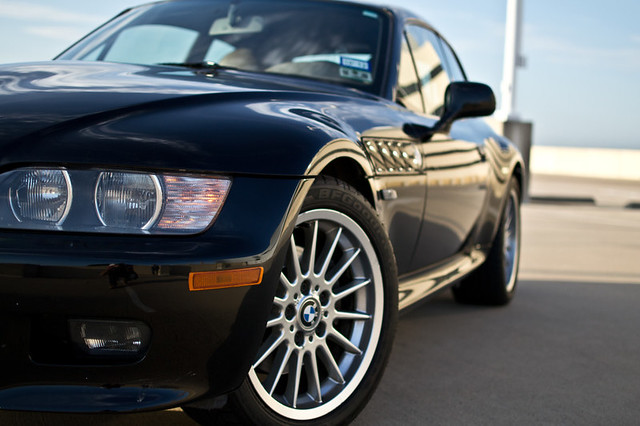 2002 Z3 Coupe | Jet Black | Beige