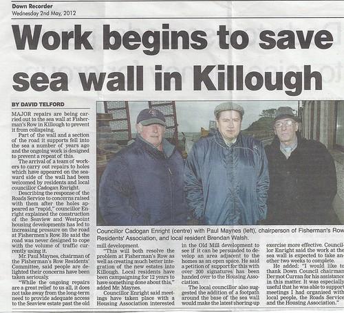 killough sea wall success by CadoganEnright