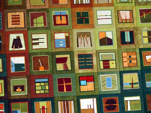 A new amazing art quilt by Erin Wilson