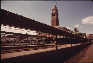 King Street Passenger Train Station in Seattle, Washington has been designated an historical landmark, June 1974