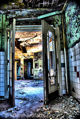 Old hospital near to Berlin