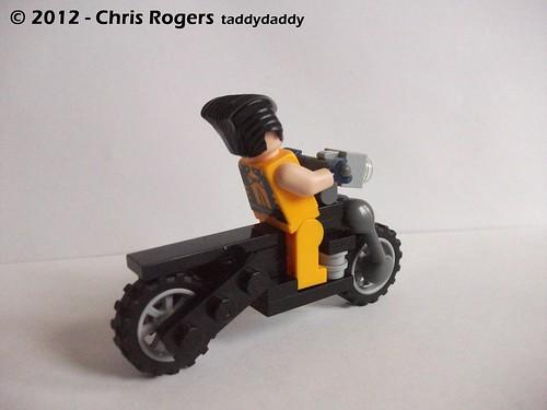 Lego Wolverines Harley 3